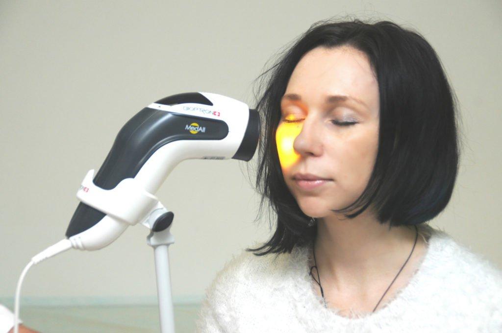 видимое излучение - эффективно используется в физиотерапии и косметологии, как эффективное светолечение