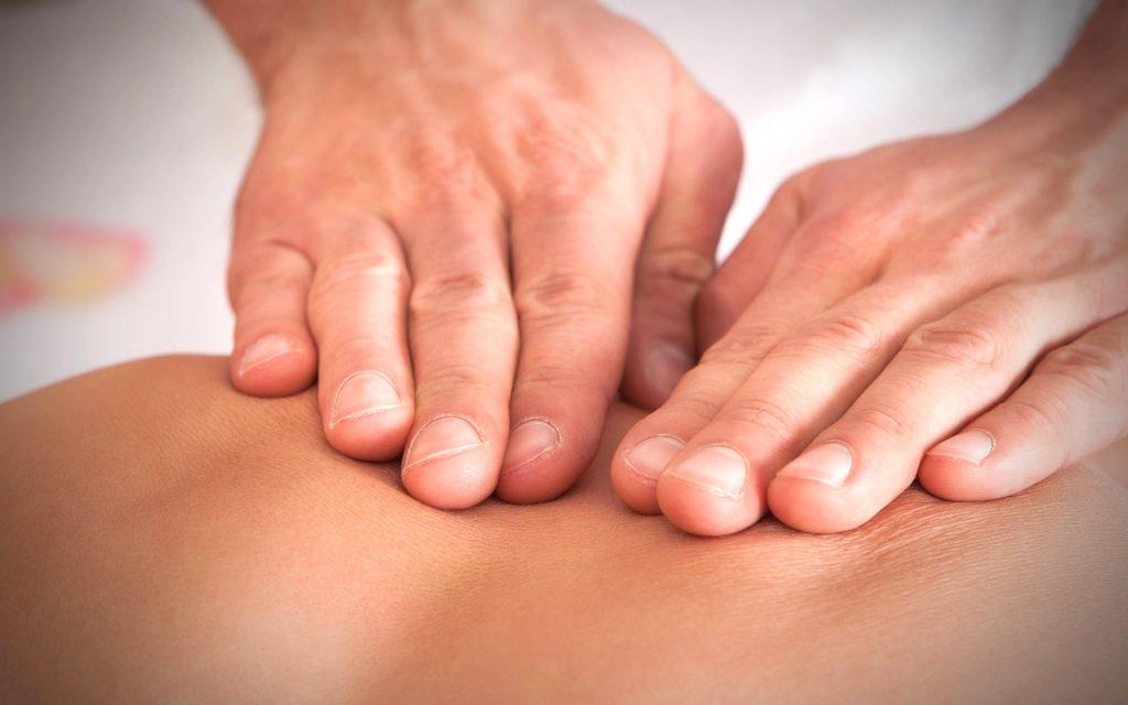 надавливание - техника сегментарного массажа