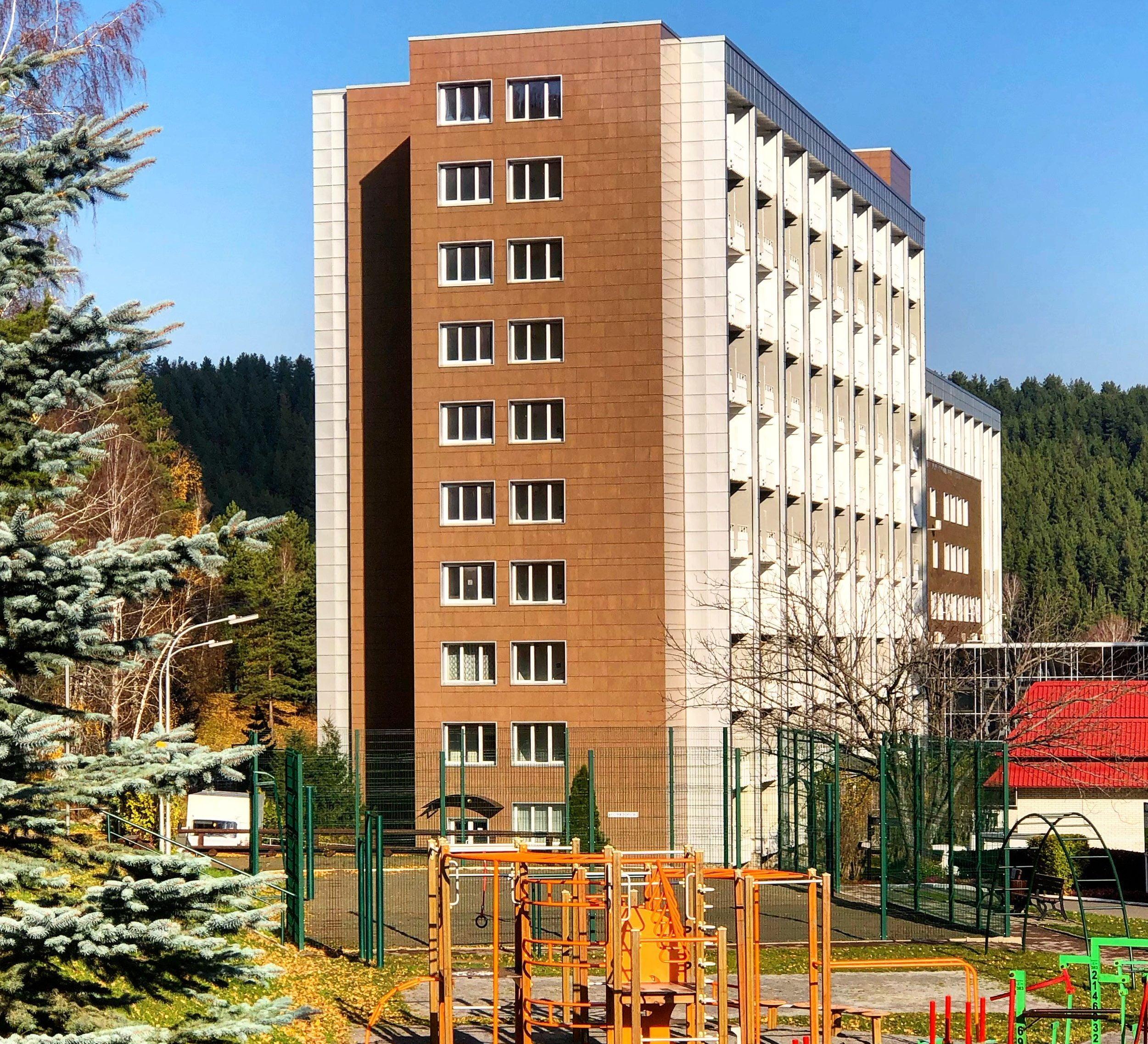 Обзор санатория Россия